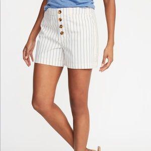 NWT old navy twill shorts
